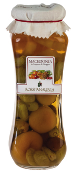 Frutta in Liquore di Grappa, Macedonia - Vaso 25cl/510g
